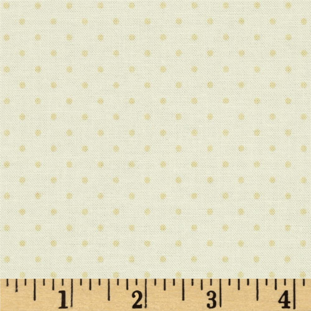 Riley Blake Le Creme Basics Swiss Dot Tone on Tone Cream