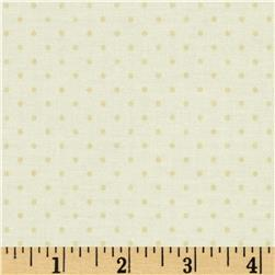 Riley Blake Le Creme Basics Swiss Dot Tone