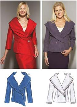 Kwik Sew Portrait Collar Jackets Pattern