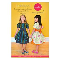 Modkid Addison Vintage Style Dress Girls Pattern