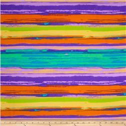 Vivid Chiffon Purple/Orange/Lime