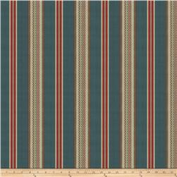 Fabricut Amity Stripe Blue Multi