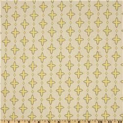 Premier Prints Sheeting Aggie Lemon/Natural