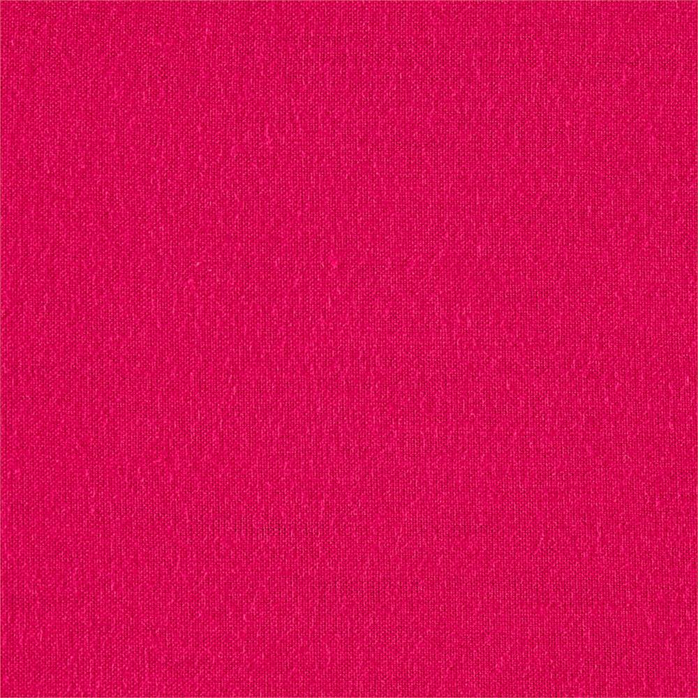 Rayon Jersey Knit Hot Pink Fabric By The Yard