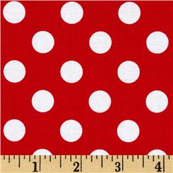 Riley Blake Twice as Nice Dots Red