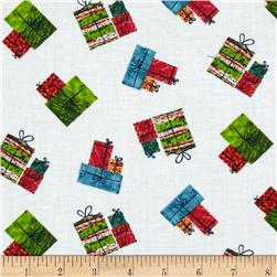The Very Hungry Caterpillar Christmas Presents Multi Fabric