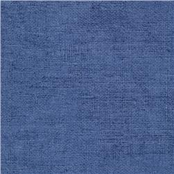 Moda Rustic Weave Dusty Blue Fabric