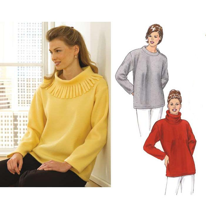 Kwik Sew Knit Pullover Top Learn To Sew Pattern