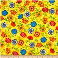 Emily's Artful Days Floral Yellow