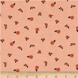 Sweet Florals Tiny Rose Coral