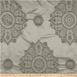 Starlight Laurier Satin Jacquard Silver