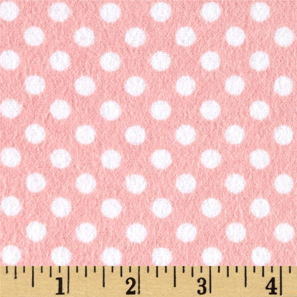 Flannel Polka Dots Watermelon