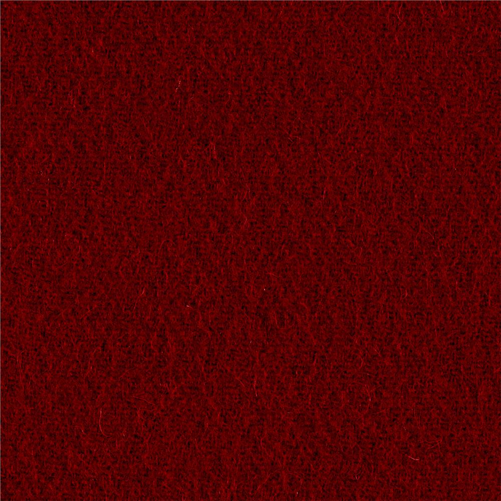Riley Blake Wool Blend Melton Red