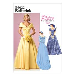 Butterick Misses' Dress Pattern B6022 Size A50