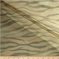 Zebra Print Tulle Antique Gold