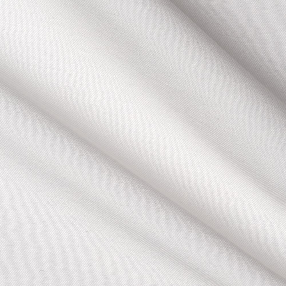 Stretch Bengaline Suiting Solid Pure White