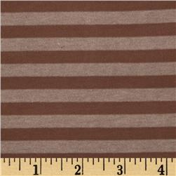 Heather Stripe Hatchi Sweater Knit Brown