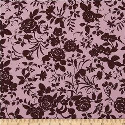 Pimatex Basics Floral Chocolate/Pink