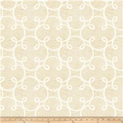Fabricut Embroidered Sugarplum Sheers Gold Cream