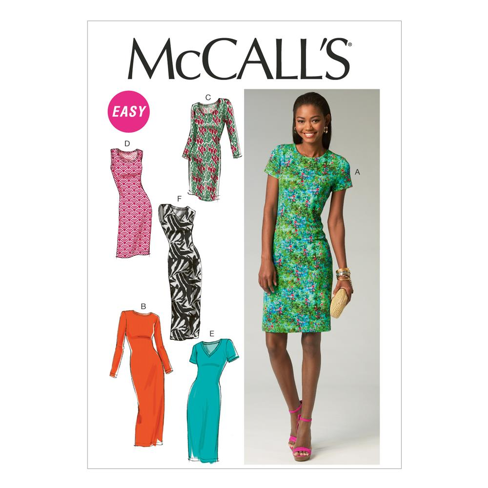 McCall's Misses' Dresses Pattern M6886 Size A50