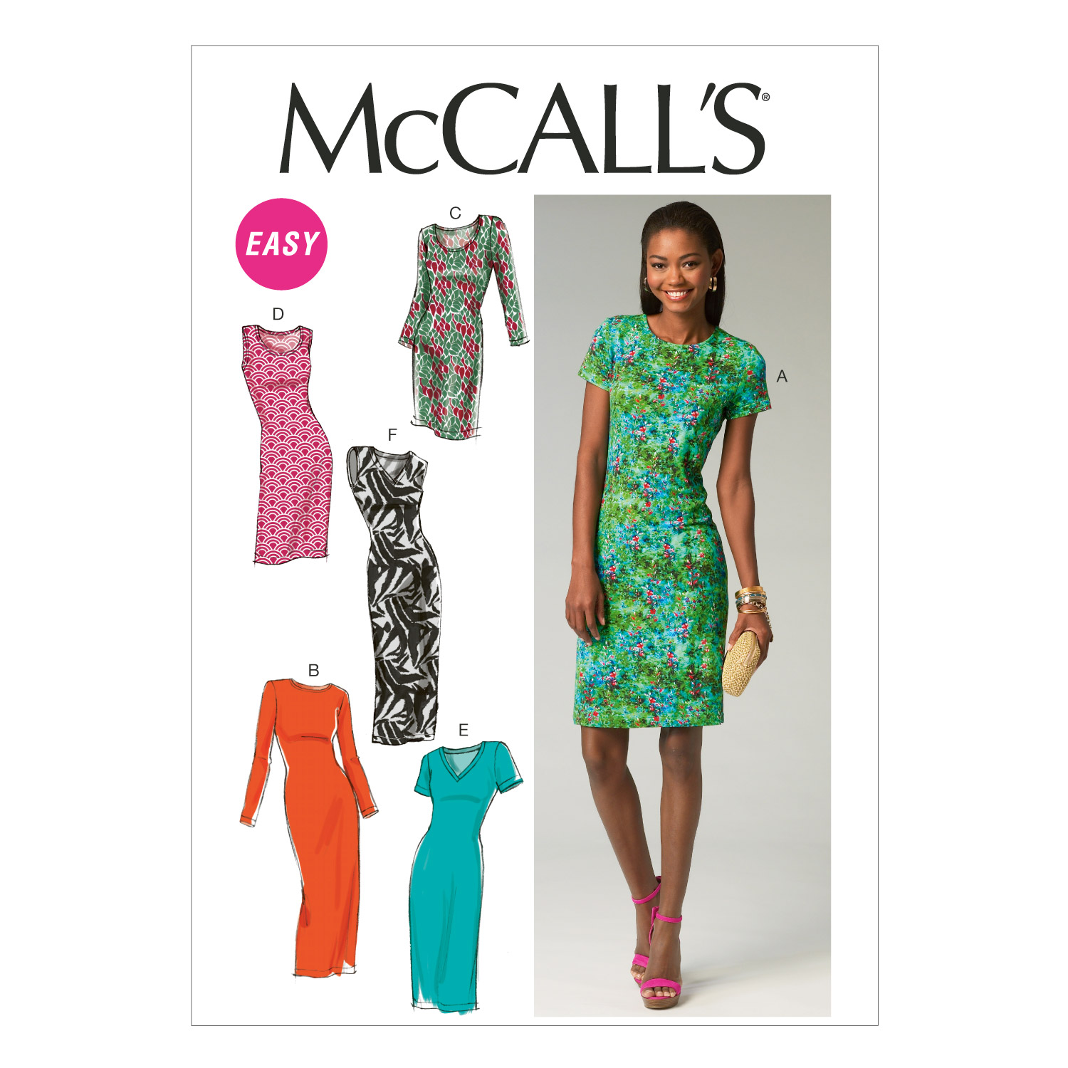 Image of McCall's Misses' Dresses Pattern M6886 Size A50