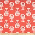 Premier Prints Lobster Slub Salmon