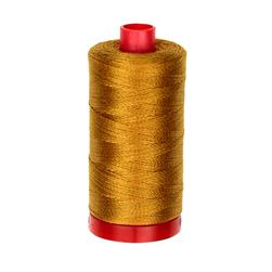 Aurifil 12wt Embellishment and Sashiko Dreams Thread Brass