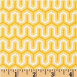 Riley Blake Simply Sweet Zig Zag Yellow
