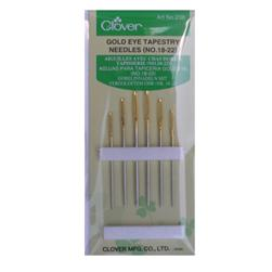 Clover Tapestry Needles Size 18-22 - 6 Pack