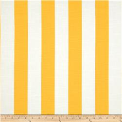 Premier Prints Stripe Slub Corn Yellow