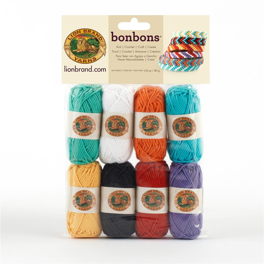Lion Brand BonBons Yarn Pack Beach