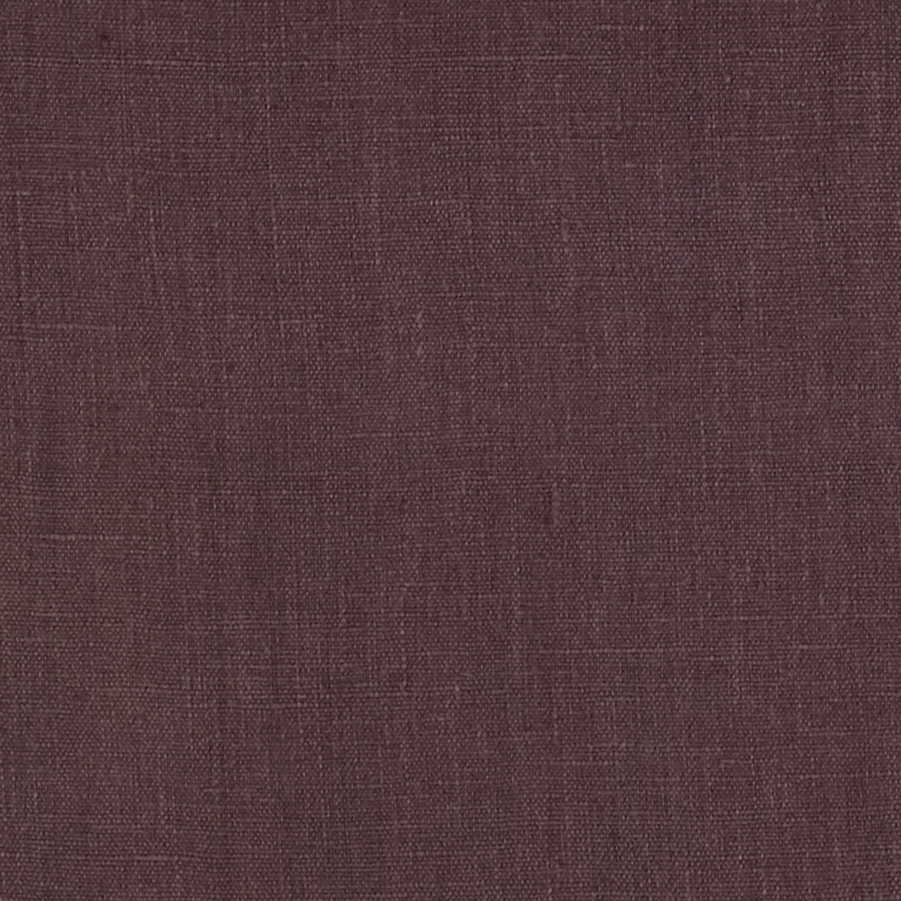European 100% Washed Linen Plum Fabric by Noveltex in USA