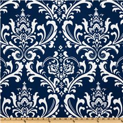 Premier Prints Indoor/Outdoor Ozborne Deep Blue Fabric