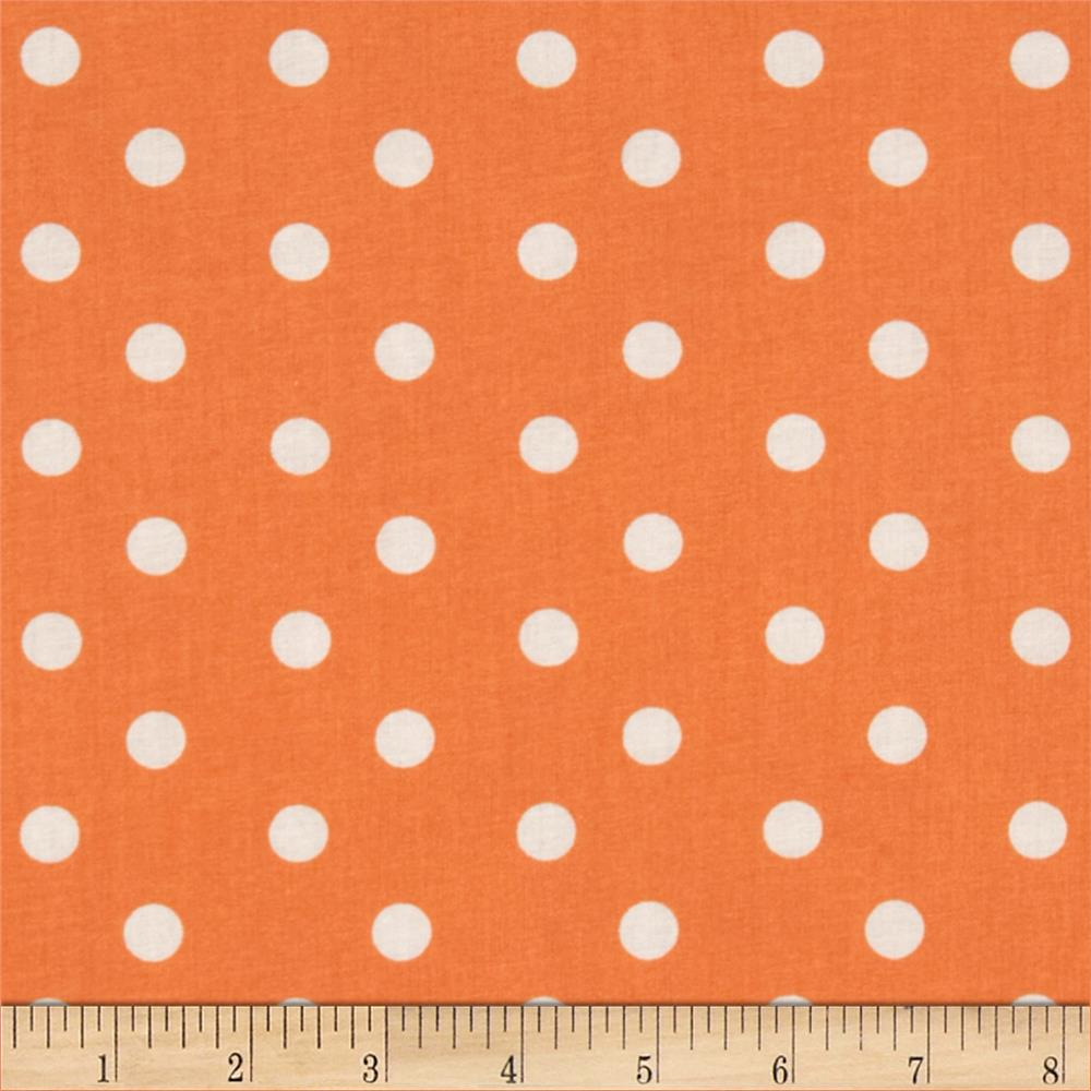Baby Talk Aspirin Dot Apricot/White
