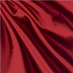 Debutante Stretch Satin Fabric Scarlet Red