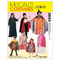 McCall's Children's, Boys' and Girls' Cape and Tunic