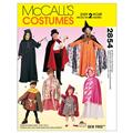 McCall's Children's, Boys' and Girls' Cape and Tunic Costumes Pattern M2854 Size KID