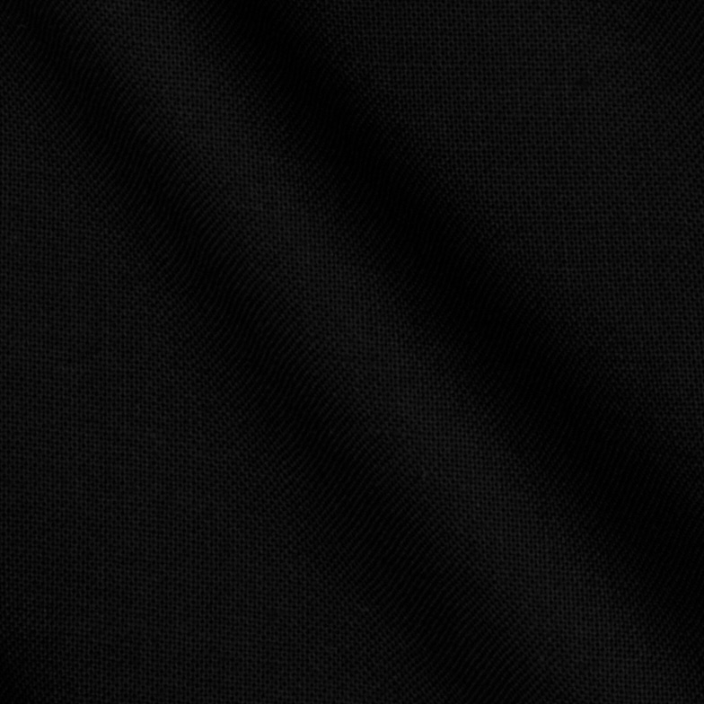 Stella Cotton Solid Black Fabric