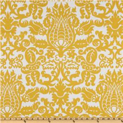 Premier Prints Amsterdam Slub Yellow/White Fabric