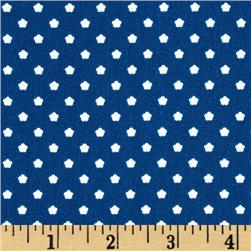 Riley Blake Flutterberry Spot Navy