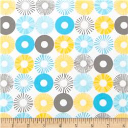 Cozy Cotton Flannel Circles Multi Fabric