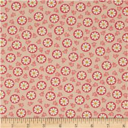 Savvy Swirls Circle Flower Pink