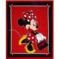 Disney Minnie Traditional Minnie & Purse Panel Red