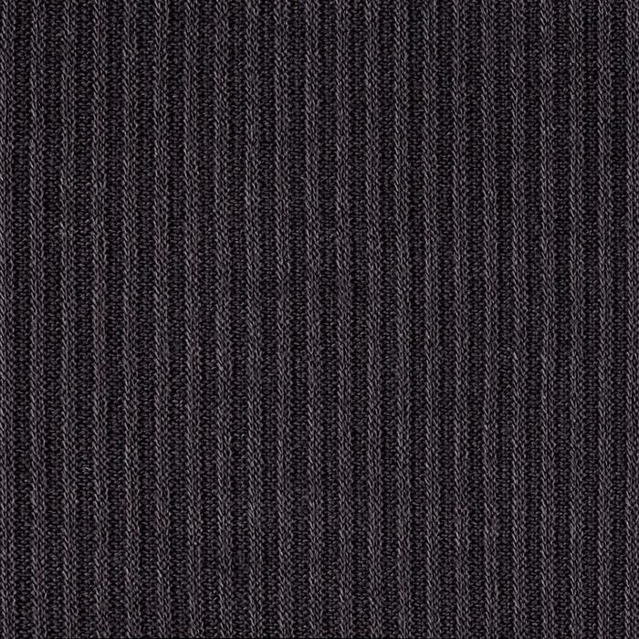 Hatchi Sweater Rib Knit Solid Dark Gray