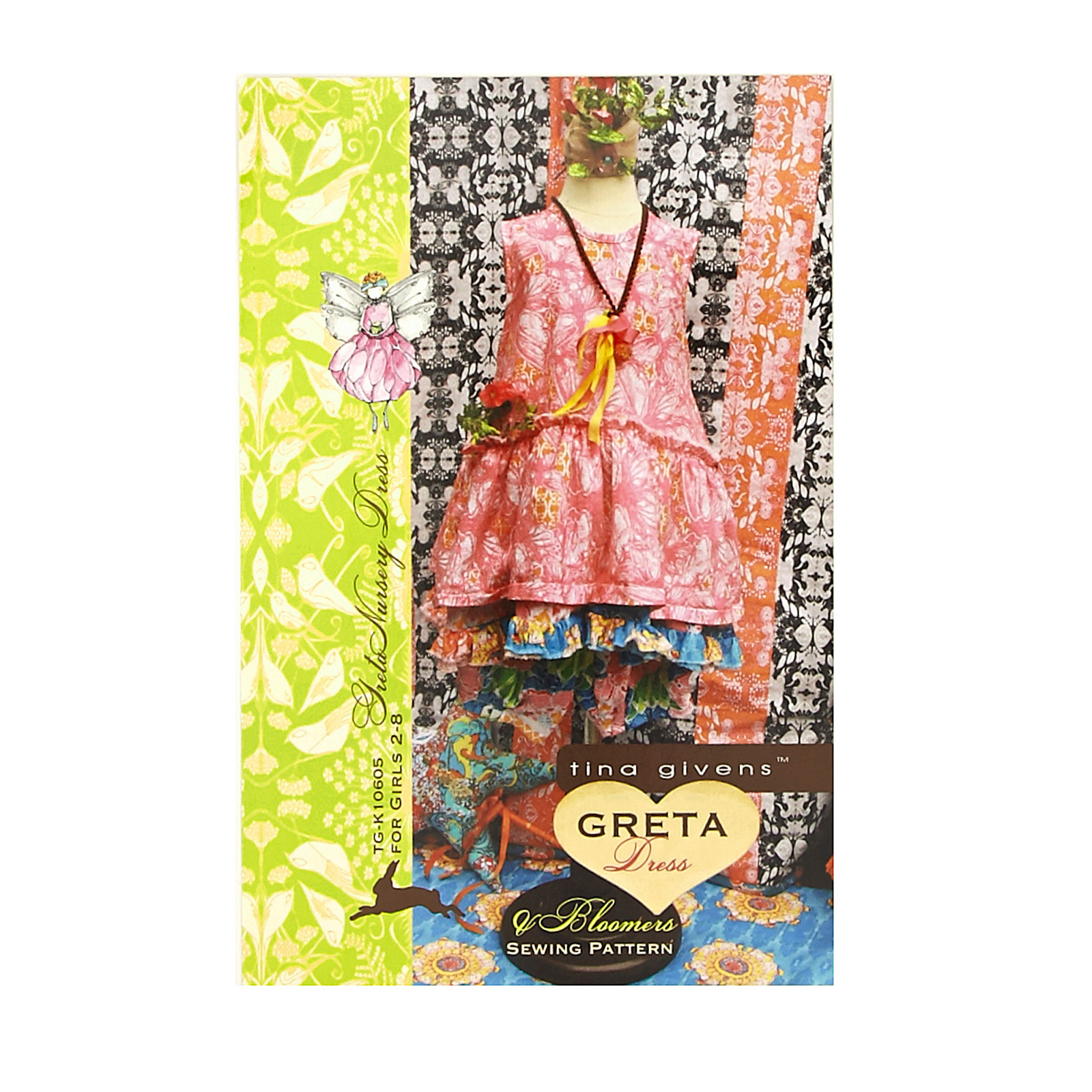 Tina Givens Greta Nursery Dress Pattern