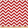 Premier Prints Indoor/Outdoor Zig Zag Rojo Red