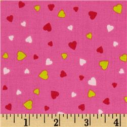 XOXO Mini Hearts Pink