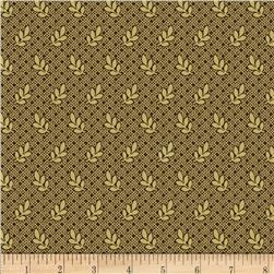 Judie's Album Quilt Leaf Brown