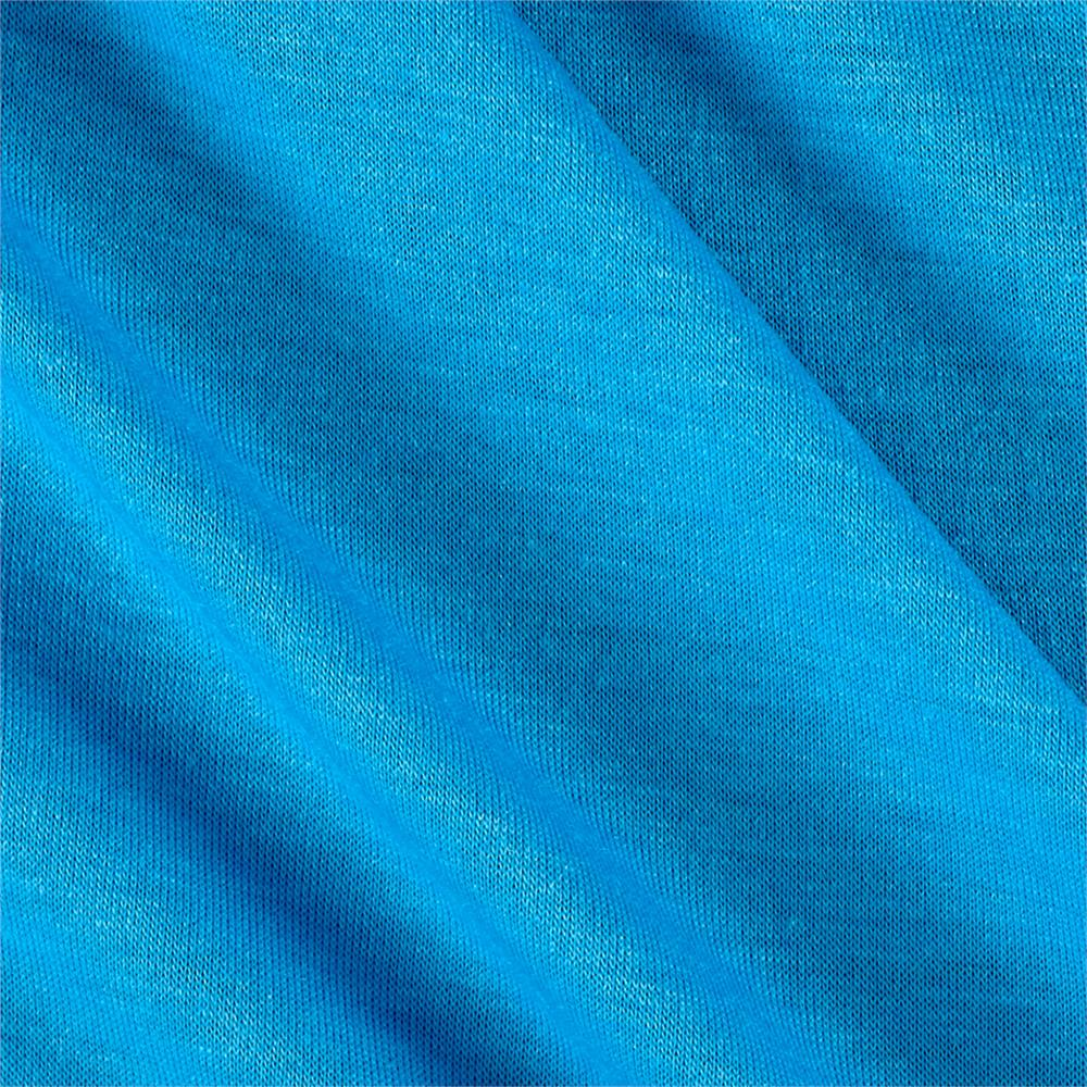 Polyester jersey knit solid light blue discount designer for Where to get fabric