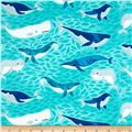 Kaufman Seaside Treasures Sea Animals Pacific